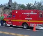 Alerta a Corporaciones Supuesto Incendio de Ambulancia en la Siglo XXI