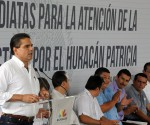 """Entrega de Apoyos a la Población Afectada por el Huracán """"Patricia"""""""