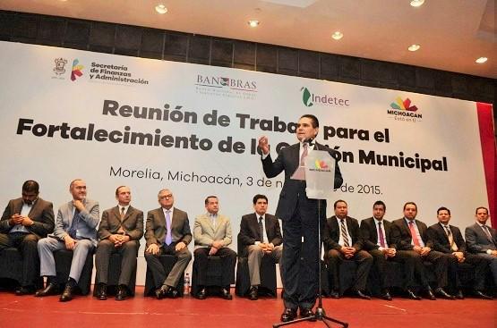 Acompañará Silvano Aureoles Gestiones Para Fortalecer Gobiernos Municipales de Michoacán