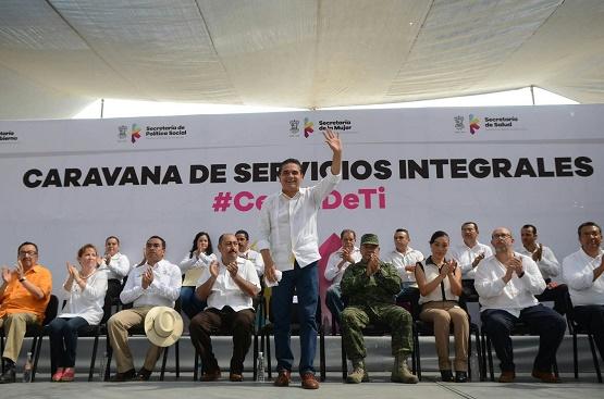 No Dejaremos Solos a Buenavista, ni a los Municipios de la Región: Silvano Aureoles