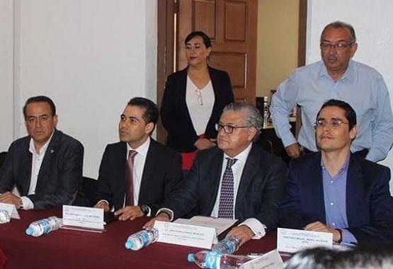 Aborda Carlos Maldonado Mendoza con Diputados Locales la Situación Financiera de Michoacán