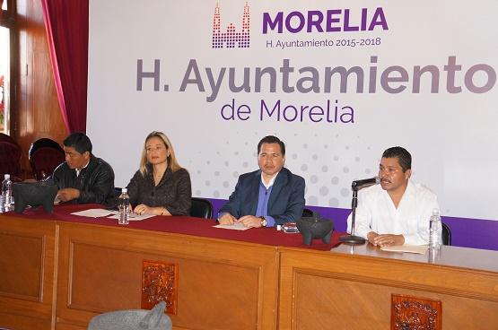 Prepara Ayuntamiento de Morelia Primer Feria del Molcajete en San Nicolás Obispo
