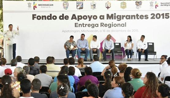 Nuestros Migrantes Pueden Regresar a un Michoacán con Tranquilidad: Silvano Aureoles
