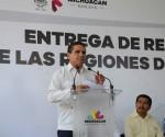 Entrega de Recursos Convenidos SEDRUA - SAGARPA