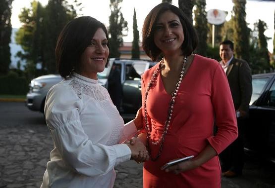 Presidenta de Inmujeres Respalda Propuesta de Socorro Quintana a la no Desaparición de la Secretaría de la Mujer en Michoacán