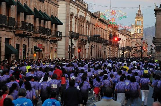 """Camina, Trota, Corre por Michoacán 2015"" supera expectativas; logra más de 25 mil participantes"