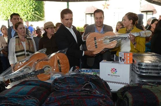 Reitera Gobernador Compromiso de Apoyar a Alcaldes de la Región Oriente de Michoacán