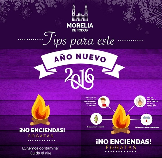 Llama Ayuntamiento a Evitar Encender Fogatas en Celebración de fin de año