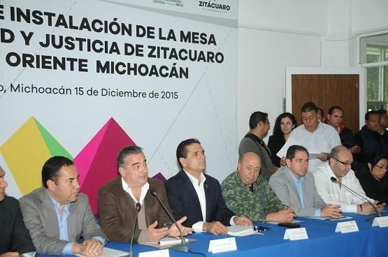 Nuestro Reto, Consolidar la Fortaleza Institucional de Michoacán: Silvano Aureoles