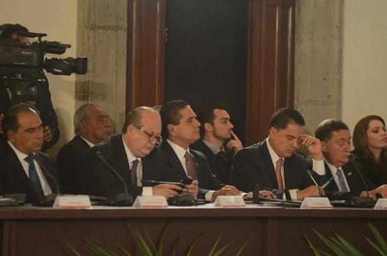 Acude Silvano Aureoles a Sesión del Consejo Nacional de Seguridad Pública