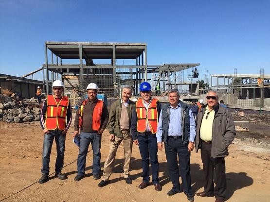 Supervisan SCOP y STJEM Avances en los Nuevos Juzgados de Zamora
