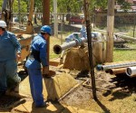 Del 1 al 4 de Diciembre, Mantenimiento al Pozo del Fraccionamiento Puntalba