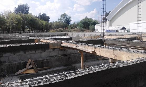 Avanza Edificación de Alberca Semiolímpica Morelos-Indeco