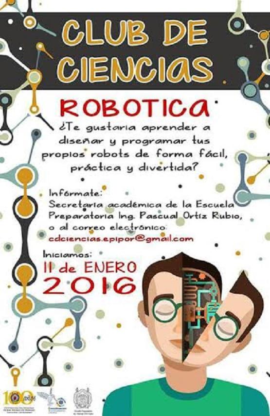 Alumnos de Preparatoria Pascual Ortiz Rubio Inician Club de Robótica