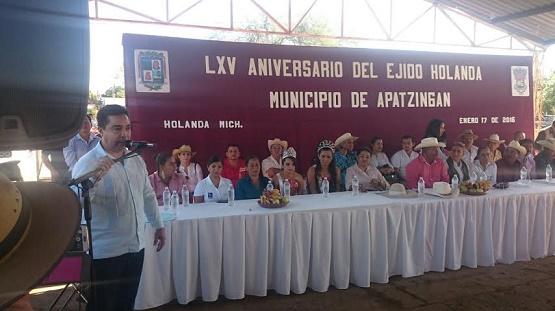 Más Presupuesto Para el Desarrollo del Campo: Sergio Ochoa Vázquez