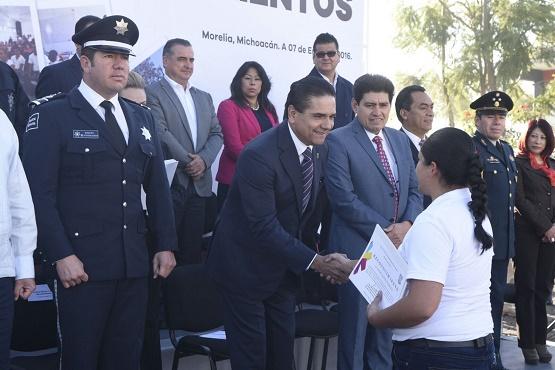 Michoacán Avanza en Conformación de la Mejor Policía de México: Silvano Aureoles