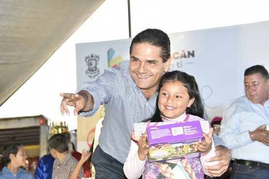 Cuidar a Nuestra Niñez Michoacana Generará un Futuro Mejor: Silvano Aureoles