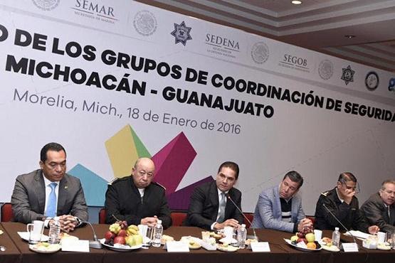 Fortalecen Acciones de Seguridad Michoacán y Guanajuato