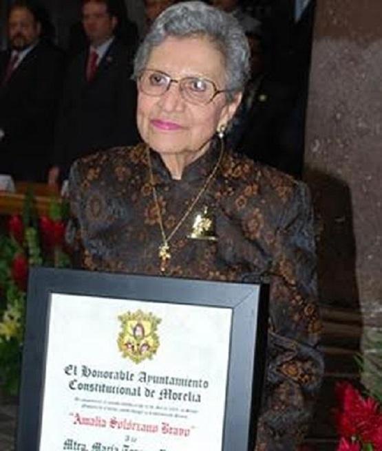 Falleció la Historiadora María Teresa Martínez Peñaloza