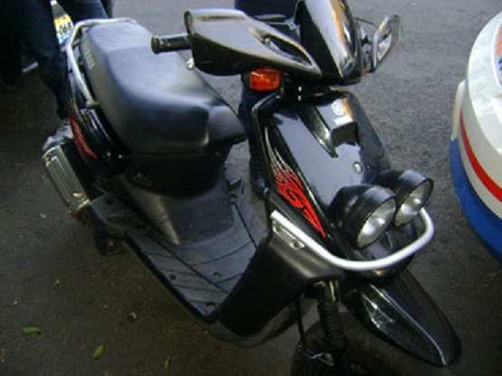 Aprehenden a Sujeto con una Motocicleta Robada