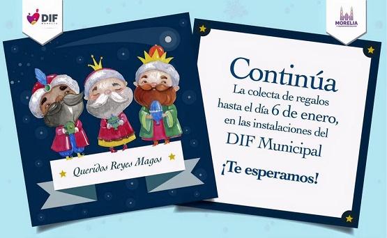 Últimos Días Para Regalar Sonrisas a Niños Morelianos: Ayuntamiento