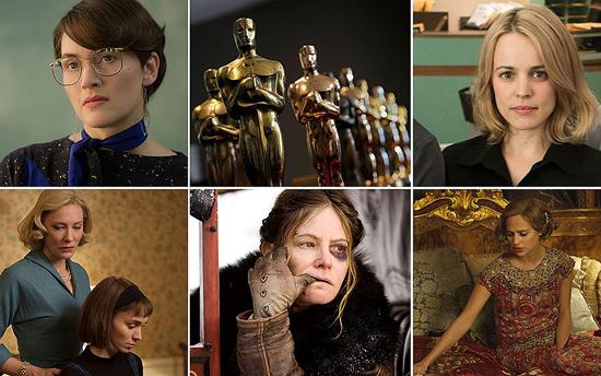 Nominadas a Actriz de Reparto Para el Oscar