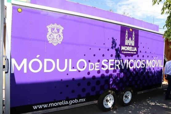 Módulo de Servicios Móviles Estará en el Fraccionamiento La Hacienda