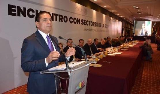 Aún Aqueja a Michoacán Fantasmas de la Inseguridad: Silvano