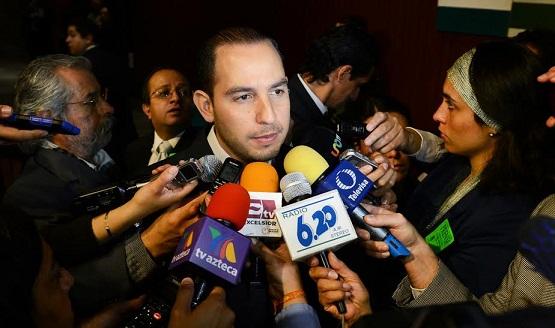 Con el PRI-Gobierno Regresó el Manejo Irresponsable de la Economía: Dip. Marko Cortés Mendoza