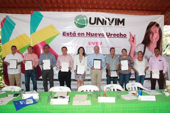 La UNIVIM Lleva Educación Superior a la Región Infiernillo