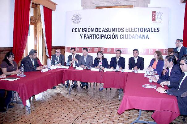 Diputados Ley Electoral