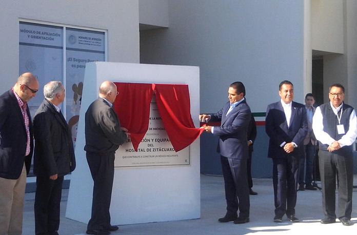 Inauguración Hospital Zitácuaro