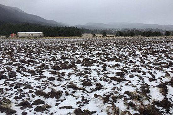 Oaxaca Tormenta Invernal