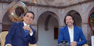 Silvano Aureoles y Marco Antonio Solís