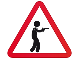 asesino mano armada robo