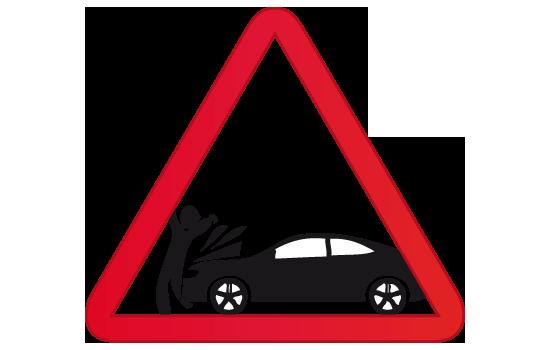 atropellado apachurrado auto coche