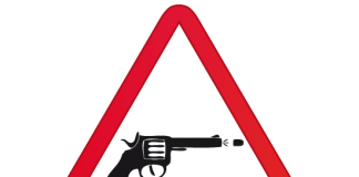 balazo balacera pistola revolver