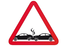 choque accidente atrás alcance auto coche