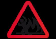 incendio fuego quemado huir