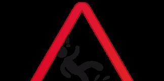 resbalón caída muerte herido accidente