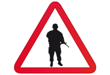soldado armada zardo militar