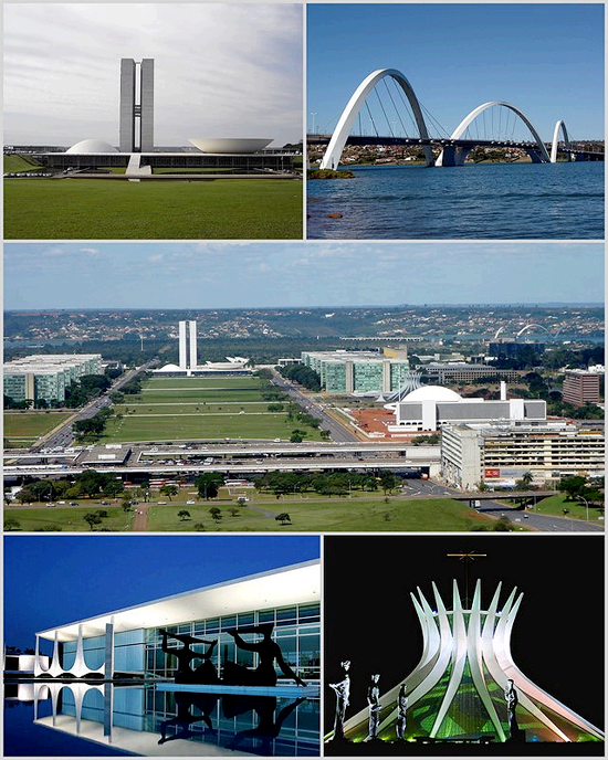 Brasilia-Collage