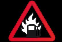 Gasolinera Incendio Quema Fuego
