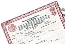 Actas Registro Civil