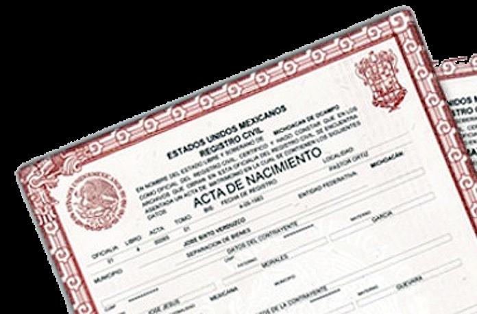 Actas Registro Civil
