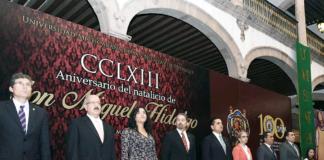Aniversario Natalicio Miguel Hidalgo UMSNH