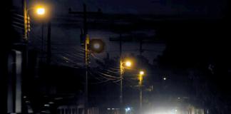 Luminaria Falta Falla luz noche