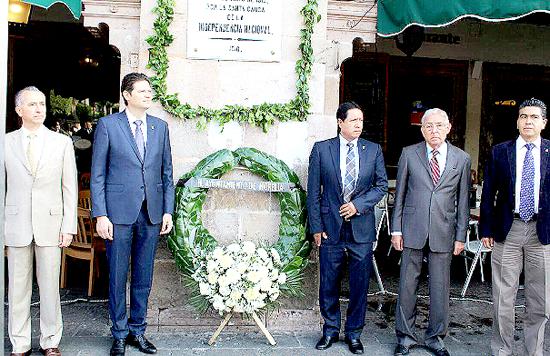 Homenaje José Guadalupe Salto presbitero