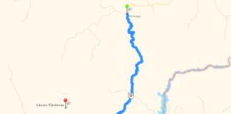 Carretera Lázaro Cárdenas-Arteaga
