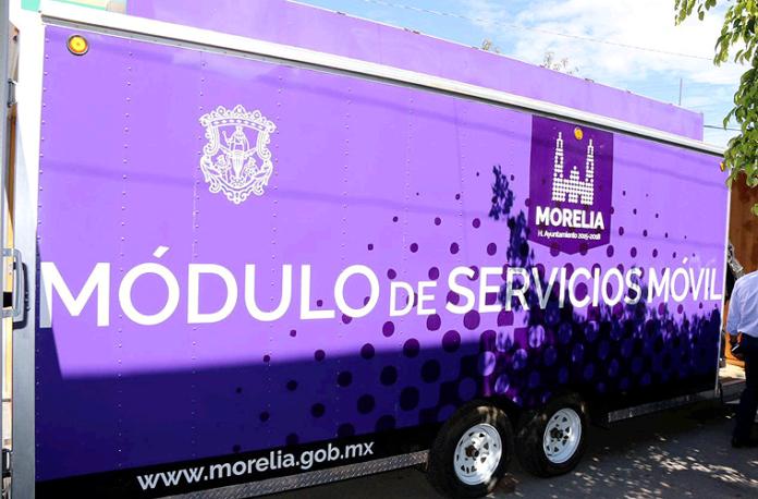 Módulo de Servicios Móvil Morelia Tesorería